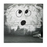 "Coton de Tulear Graffiti Art Tile<br><div class=""desc"">This exclusive Coton de Tulear Cartoon Graffiti Art is fun and perfect for any dog lover.</div>"