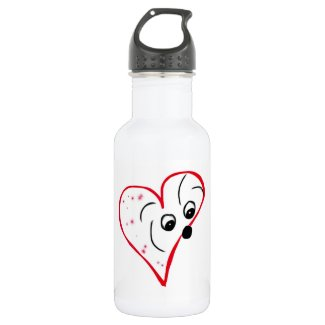 Coton de Tulear Love Water Bottle