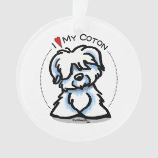 Coton de Tulear Lover Ornament