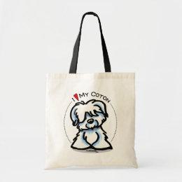 Coton de Tulear Lover Tote Bag