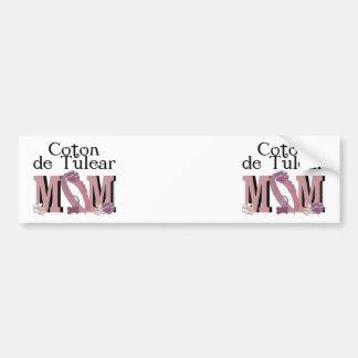 Coton de Tulear MOM Car Bumper Sticker