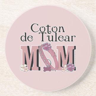 Coton de Tulear MOM Drink Coaster