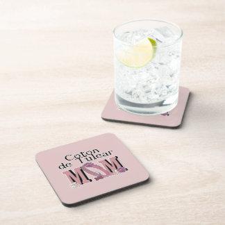 Coton de Tulear MOM Coasters