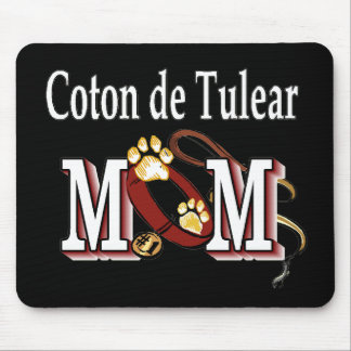 Coton de Tulear Mom Gifts Mouse Pad