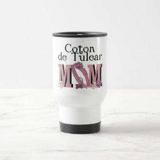Coton de Tulear MOM 15 Oz Stainless Steel Travel Mug