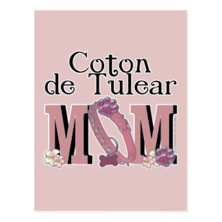Coton de Tulear MOM Postcard