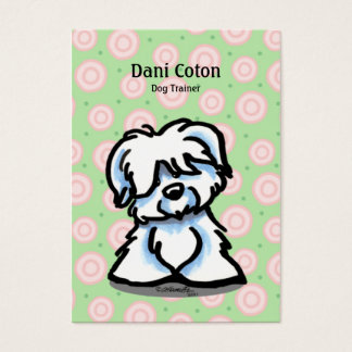 Coton de Tulear Pet Business Cards