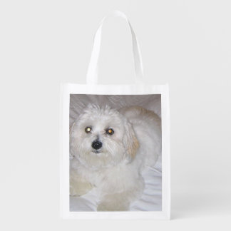 coton laying.png reusable grocery bag