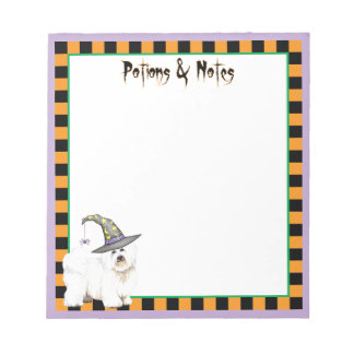 Coton Witch Note Pad