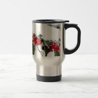 Cotoneaster Fruits with a Snow Hat Mug