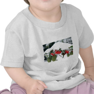 Cotoneaster Fruits with a Snow Hat Shirt
