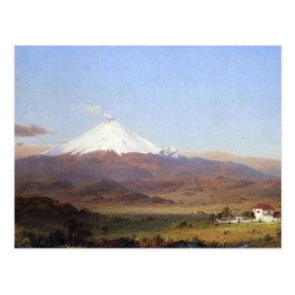 Cotopaxi, Ecuador por la iglesia de Frederick Edwi Postal