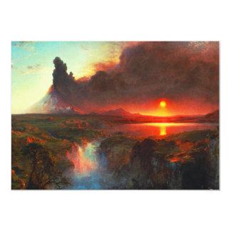"""Cotopaxi Volcano Invitations 5"""" X 7"""" Invitation Card"""