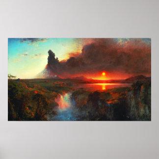 Cotopaxi Volcano Poster