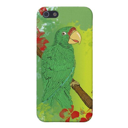 Cotorra Puertorriqueña/Puerto Rican Parrot iPhone SE/5/5s Cover
