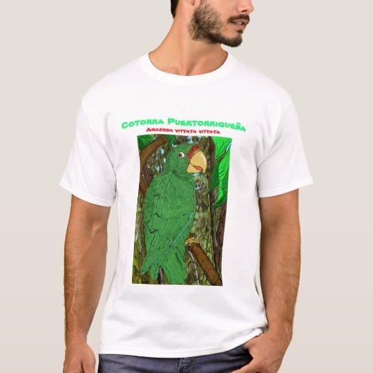 Cotorra Puertorriqueña/Puertorican Parrot T-Shirt