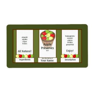 Cotos de Apple que conservan la etiqueta Etiquetas De Envío