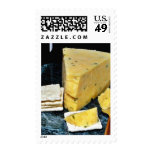 Cotswold Double Gloucester Cheese Postage Stamps