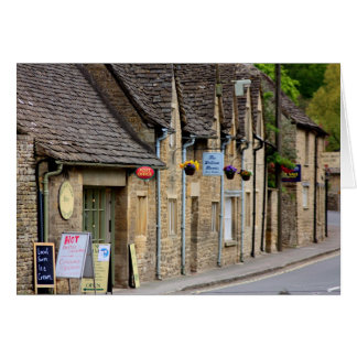 Cotswold English Village Greetings card