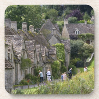 Cotswold stone cottages in the village of drink coasters