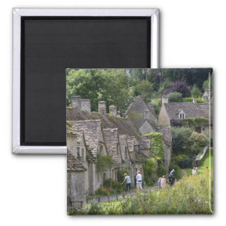 Cotswold stone cottages in the village of fridge magnet