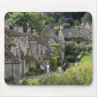 Cotswold stone cottages in the village of mouse pads