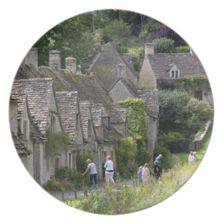 Cotswold stone cottages in the village of plates
