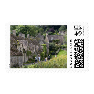 Cotswold stone cottages in the village of stamps