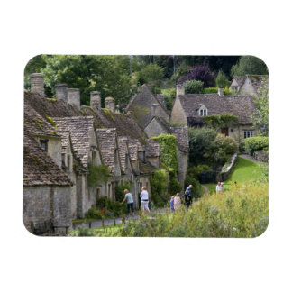 Cotswold stone cottages in the village of vinyl magnet