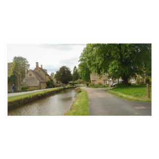 Cotswold Village Gift Card, British Countryside &  Photo Card