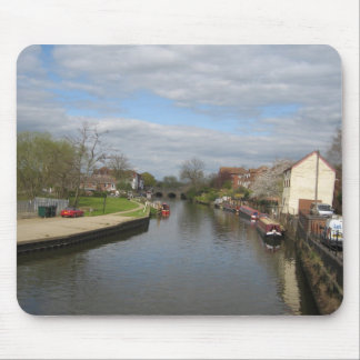 Cotswold waterways mouse pad