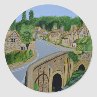 Cotswolds England Classic Round Sticker