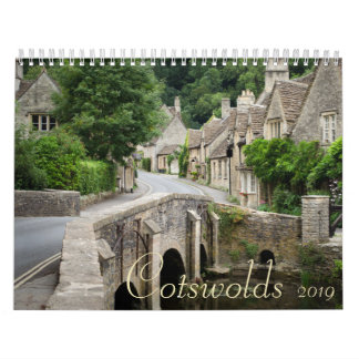Cotswolds towns calendar for 2019