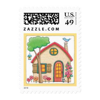 Cottage 4 stamps