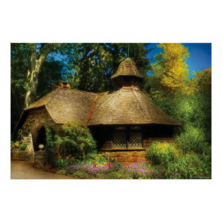 Cottage - A little Dutch House Print
