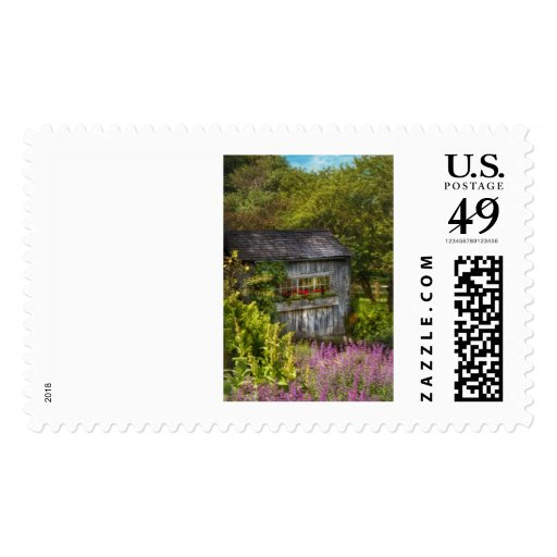 Cottage - A summers dream Postage Stamps