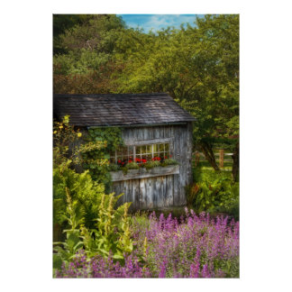 Cottage - A summers dream Posters