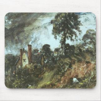Cottage among Trees with a Sandbank, c.1830-36 (oi Mouse Pad