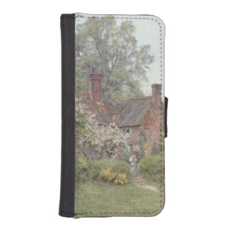 Cottage at Chiddingfold iPhone 5 Wallet Cases