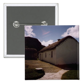 cottage at Glencollumkille,Co.Donegal Pinback Button