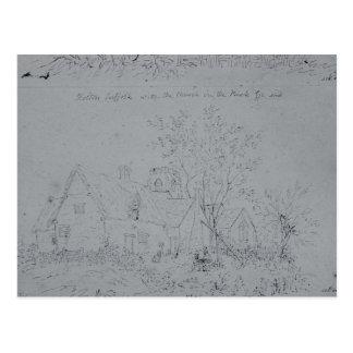 Cottage at Holton Postcard