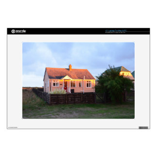 Cottage Behind The Dunes Laptop Skin
