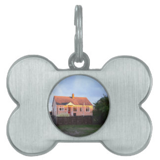 Cottage Behind The Dunes Pet Name Tag