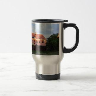 Cottage Behind The Dunes Travel Mug