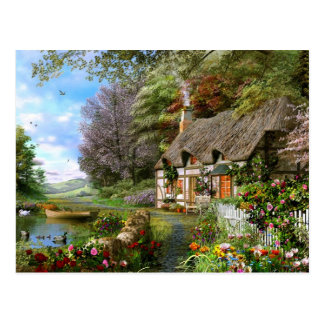 Cottage By The Dales Postcard