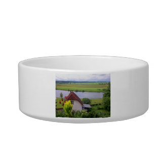 Cottage By The River Pet Bowl