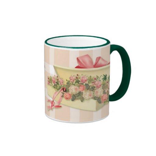 Cottage Chic Boxed Roses Mug