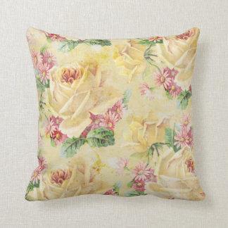 Cottage Chic Floral Pillow