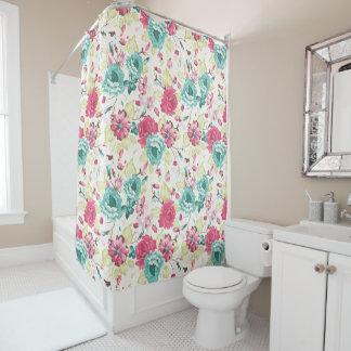 Cottage Floral Shower Curtains | Zazzle