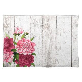 Cottage Chic Peonies Place Mat